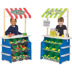 Melissa and Doug Grocery Store/Lemonade Stand, Multicolor
