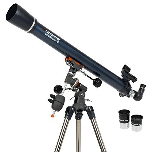 Celestron 21062 AstroMaster 70 EQ Refractor Telescope