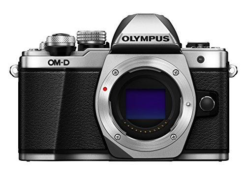 Olympus OM-D E-M10 Mark II Mirrorless Digital Camera (Silver) – Body only