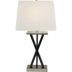 Decor Therapy Modern Matte Black Table Lamp, Multicolor