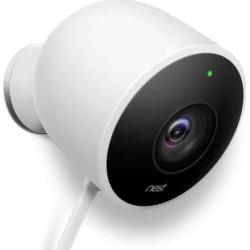 Nest Cam Outdoor Security Camera, White