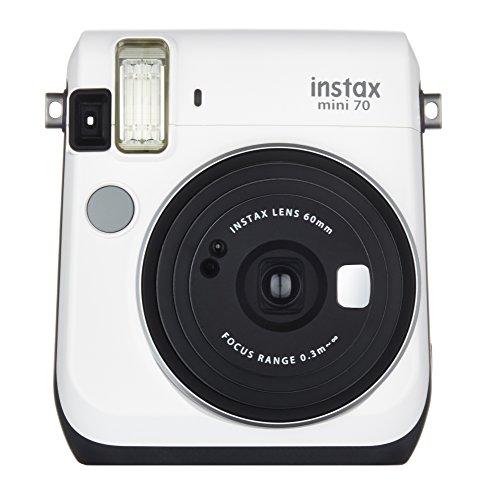 Fujifilm Instax Mini 70 – Instant Film Camera (White)