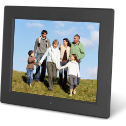Aluratek ADMPF512F 12 Digital Photo Frame – Black