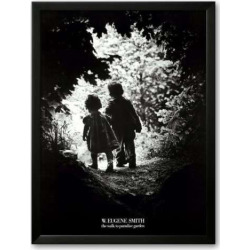 Art.com Walk to Paradise Garden Framed Art Print by W. Eugene Smith, Multicolor