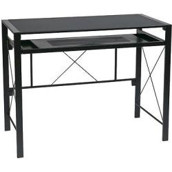 Creston Desk – Black, Computer Desk