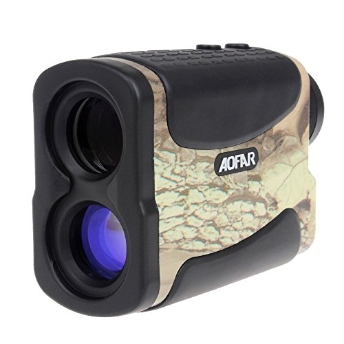 Laser Rangefinder for Hunting and Golf, 700 Yards 6X 25mm Range finder with Speed, Scan and Fog measurement (700 Yards)