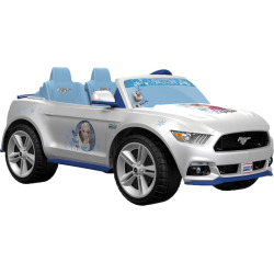 Disney's Frozen Power Wheels Smart Drive Ford Mustang by Fisher-Price, Multicolor