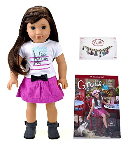 American Girl Grace – Grace Doll and Paperback Book – American Girl of 2015