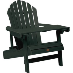 Outdoor highwood Adirondack Reading Table, Green
