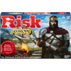 Risk Europe Game by Hasbro, Multicolor