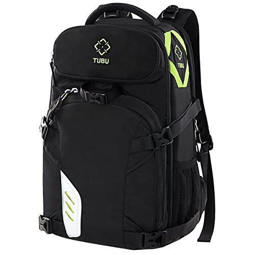Camera Laptop Backpack for Outdoor Travel Hiking Fit 2 DSLR / SLR 4-6 Lenses Women and Man by TUBU
