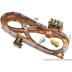Disney/Pixar Cars 3 Thunder Hollow Criss-Cross Track Set by Mattel, Multicolor