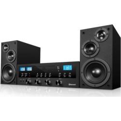 Innovative Technology Bluetooth CD Stereo, Black