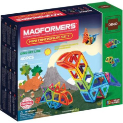 Magformers 40-pc. Mini Dinosaur Set, Multicolor