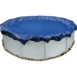 Blue Wave Gold-Grade Round Above-Ground Winter Pool Cover for 12-ft. Pool, Multicolor