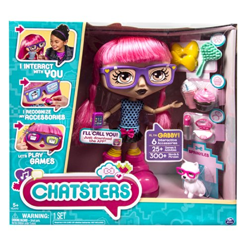 Chatsters Gabby Interactive Doll