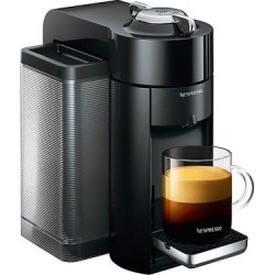 Nespresso Vertuo Coffee and Espresso Machine by De'Longhi – Black