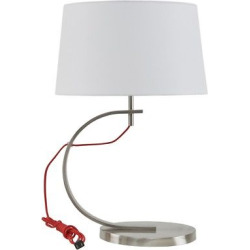 Octavia Table Lamp – Red, Table Lamp