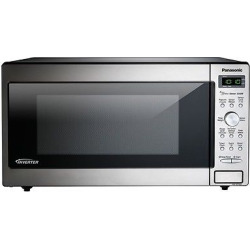 Panasonic 1.6 Cu. Ft. Microwave Oven – NN-SD745S, Silver