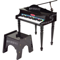 Melissa and Doug Grand Piano, Multicolor