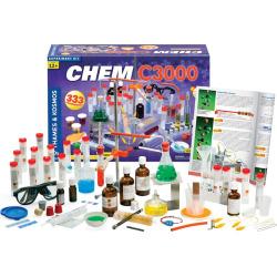 Thames & Kosmos Chem C3000 Experiment Kit, Multicolor