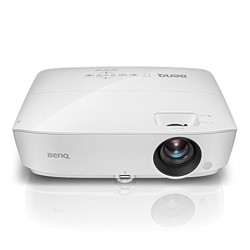 BenQ SVGA Business Projector (MS524AE), DLP, 3300 Lumens, 15,000:1 Contrast, Dual HDMI, 10,000hrs Lamp Life, 60″@7.8ft, 1.2X Zoom, 800×600