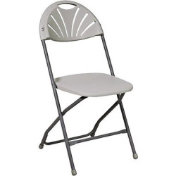 4 piece Arch-Back Folding Banquet Chairs Gray – Office Star