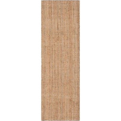Natural Solid Loomed Runner – (2'3 x 19′) – Safavieh