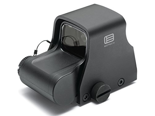 EOTech Holographic Weapon Sight, Ring with Single Red Dot Reticle, black