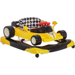 Dream On Me Aston Race Car Activity Walker, Yellow