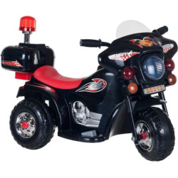 Lil' Rider SuperSport 3-Wheeled Motorcycle Ride-On, Black