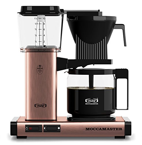 Technivorm Moccamaster 59162 Drip Coffeemakers, 40 oz, Copper