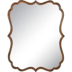Scalloped Spadola Decorative Wall Mirror Copper (Brown) – Uttermost