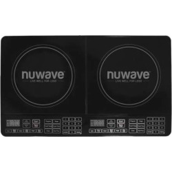 NuWave Double Precision Induction Cooktop Burner As Seen on TV, Black