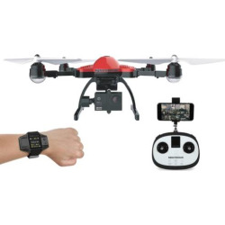 Elite Recon 2.4Ghz 4.5 Channel Drone by World Tech Toys, Multicolor