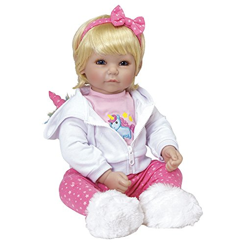 Adora Toddler Rainbow Unicorn 20″ Girl Weighted Doll Gift Set for Children 6 Huggable Vinyl Cuddly Snuggle Soft Body Toy