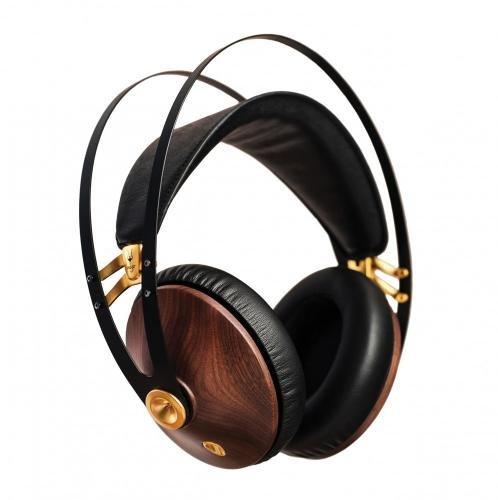 Meze 99 Classics Walnut Gold Headphones (Gold & Black)