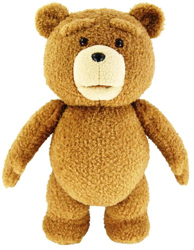 Ted 24″ Plush with Sound, 12 Phrases