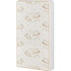 Dream On Me 2-in-1 Breathable Portable/Mini Crib Coil Mattress, White