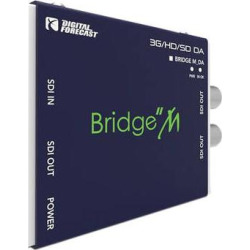 DIGITAL FORECAST Bridge Micro 3G/HD/SD-SDI Recloking 1×3 Video Distri M_DA