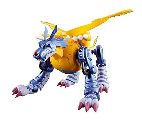 Tamashii Nations Digivolving Spirits 02 Metal Garurumon (Gabumon) Digimon Adventures Action Figure