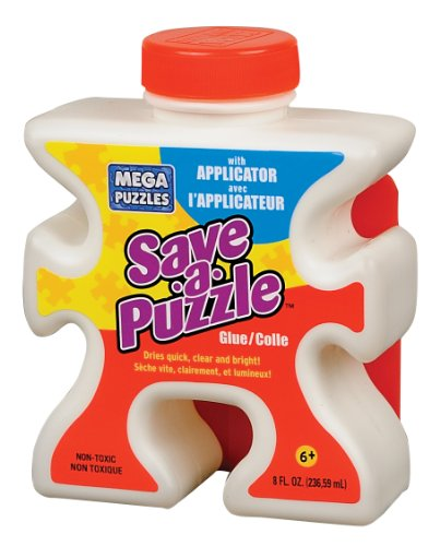 Mega Puzzles Save-a-Puzzle Glue, 8 Oz