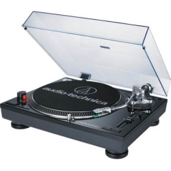 Audio-Technica Direct-Drive Professional Turntable with USB (AT-LP120-USB), Black