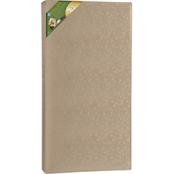 Sealy Soybean Plush Foam Core Crib Mattress, White