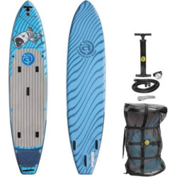 Airhead Bonefish 1132 Inflatable Stand-Up Paddleboard Set, Multicolor