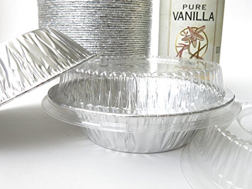 disposable aluminum 5 tart panindividual pie pan w clear dome lid 501p 500 - Allshopathome-Best Price Comparison Website,Compare Prices & Save