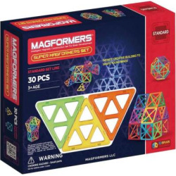 Magformers 30-pc. Super Set, Multicolor