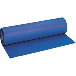 Pacon Duo-Finish Paper Roll, 40lbs – Blue
