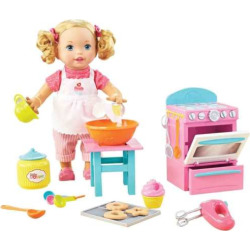 Little Mommy Bake with Me Baby Doll, Multicolor