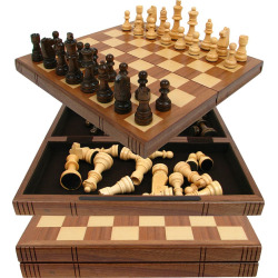 Wooden Chess Set, Multicolor